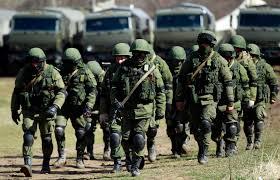 В Докучаевск прибыло подразделение спецназа ВС РФ на КамАЗах и «Тиграх»
