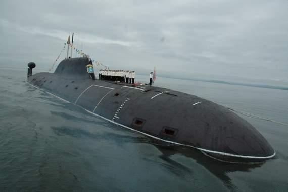 На Камчатке горела подводная лодка