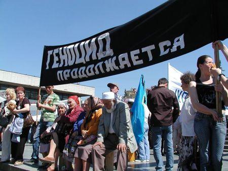 Русские оккупанты арестовали 35 крымских татар