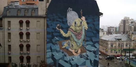 Киевский мурал в ТОП-10 лучших в мире! (фото)