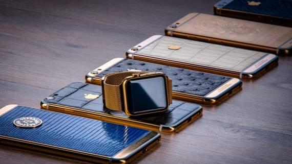 Евгений Коноплянка получил в подарок золотой iPhone от Aurum Edition