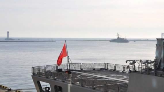 В порт Одеси увійшли військові кораблі Туреччини