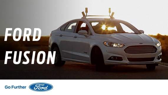 Беспилотные робомобили Ford прошли тест в темноте (видео)