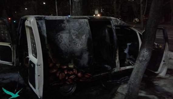 В Черкасах вибухнула кав'ярня на колесах