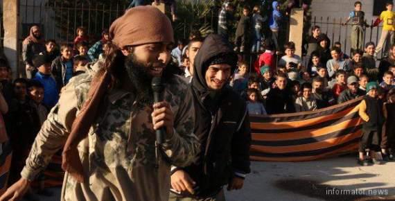 ИГИЛ воюет под георгиевской лентой !