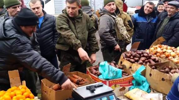 Торговец на рынке Донецка: «Скорей бы нас Украина захватила!»