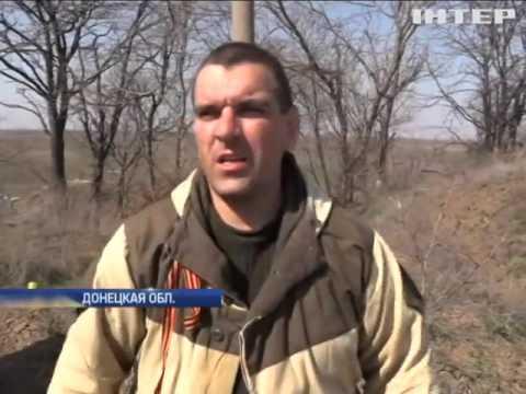 Под Марьинкой уничтожены блиндажи боевиков, в Широкино перебежчик /видео/