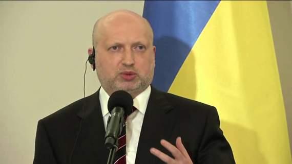 Турчинов проанонсировал возобновление производства ядерного оружия в Украине