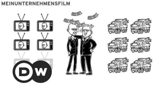 В Швейцарии показали саркастический мультик о Путине (видео)