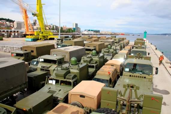 США отрабатывают сверхбыструю переброску крупных войсковых подразделений на Восток Европы/фото/