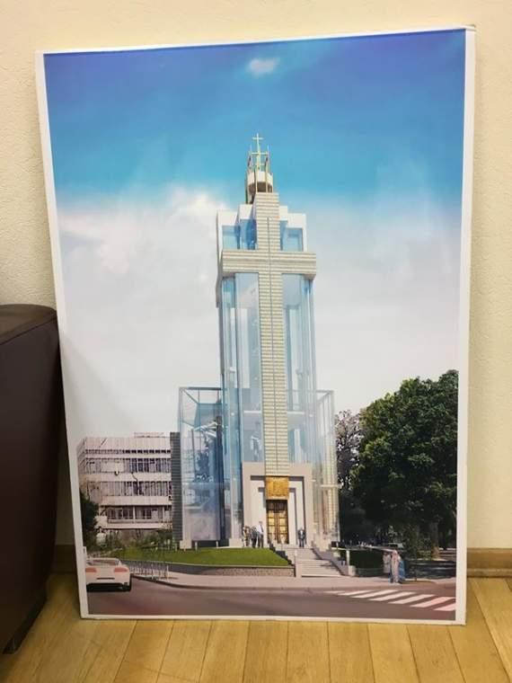 В Киеве построят стеклянный храм (фото)