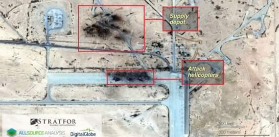 В Сирии уничтожена русская авиабаза. Москва клянется, что база сгорела от окурка:)