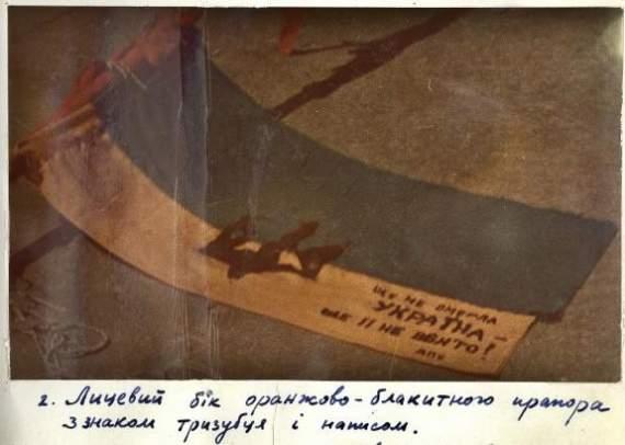 Из архива КГБ о сине-желтом флаге над Киевом в 1966 году