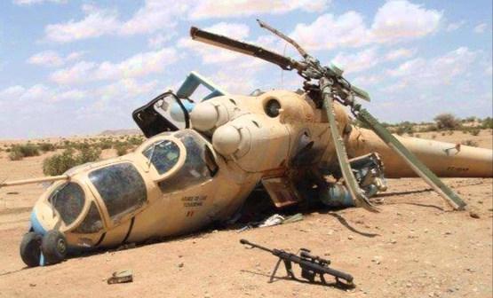 Еще минус 4 российских вертолета