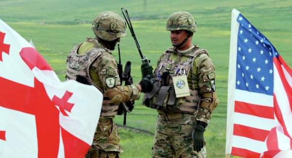 США и Британия перебросили в Грузию свои силы и танки: грядут военные учения Noble Partner