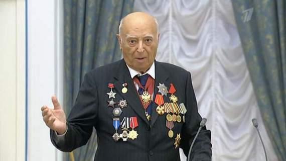 Ветерана ВОВ, народного артиста СССР Владимира Этуша отказались приглашать на прием в Кремле 9 мая