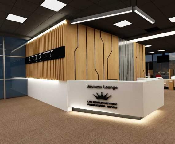 Cтудия PugachDesign оформила бизнес-зал Международного аэропорта Львов