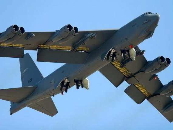 В-52 ВВС США сбросили мины вблизи базы Балтийского флота ВМФ РФ