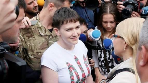 Савченко отказалась от проверки на полиграфе (ВИДЕО)