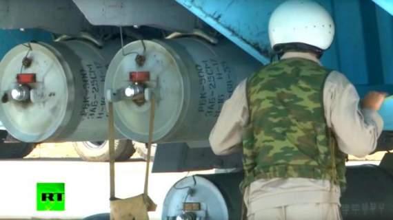 Как на канале RT случайно доказали применение РФ кассетных бомб в Сирии