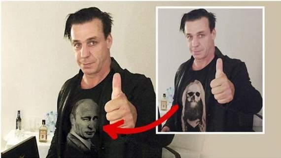 Лидер Rammstein заявил, что стал жертвой путинской пропаганды