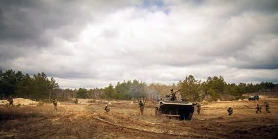 Военные АТО вытеснили боевиков «ДНР» из Марьинки