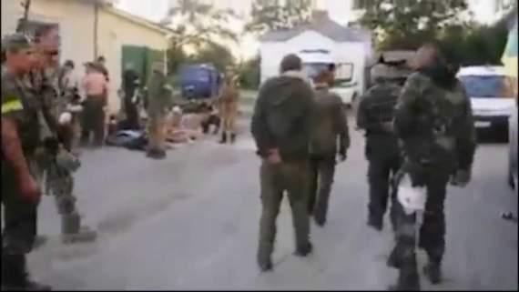 Пленных боевиков «Новороссии» заставили петь песню «Путин х*ло» (ВИДЕО)