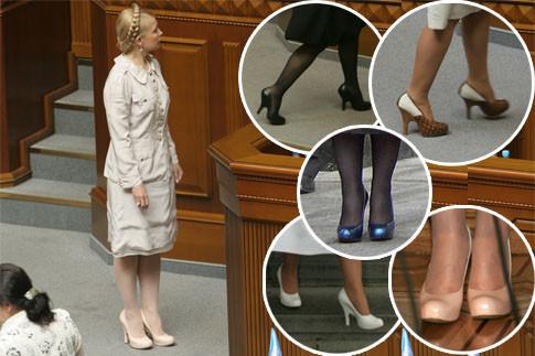 Савченко заступилась за туфли Тимошенко (ФОТО)