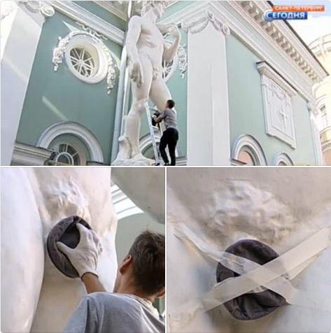 В Петербурге, по жалобе жительницы, голого «Давида» оденут