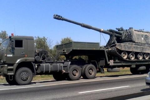 Боевики «ДНР» получили несколько колонн военной техники (ФОТО)