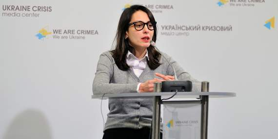 Деканоидзе рассказала о грузинах и о Путине (+ВИДЕО)