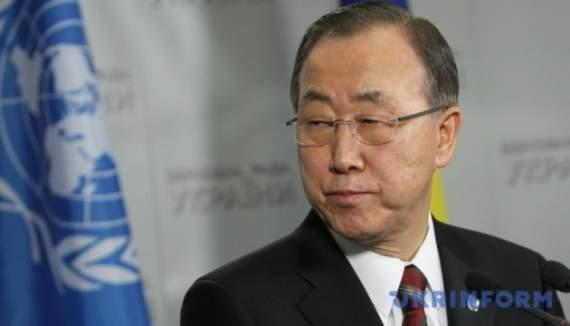 Генсек ООН объявил Олимпийское перемирие