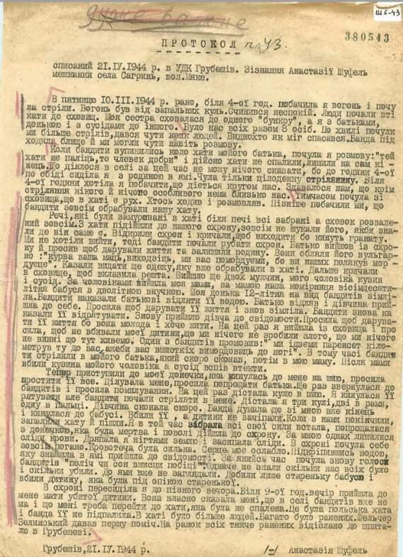 Документы о польско-украинском конфликте 1940-х выложили в открытый доступ