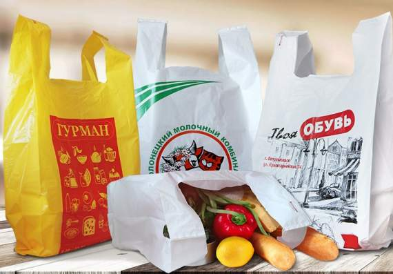 Пакеты майка для магазинов