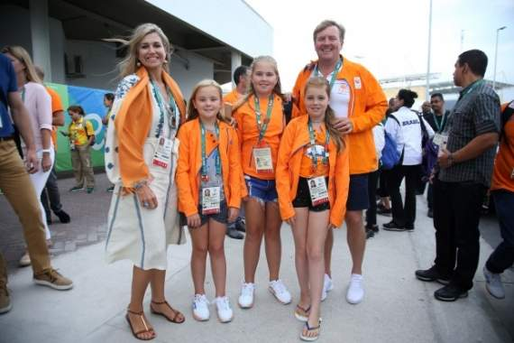 Королева Нидерландов надела украинскую вышиванку в Рио (фото)