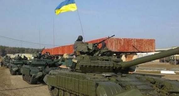 Украина перебрасывает технику к оккупированному Крыму