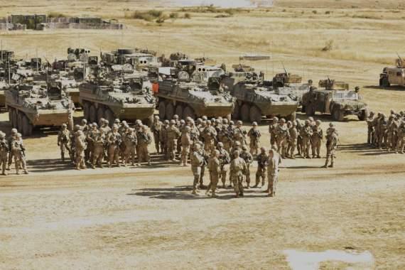 Армия США устроила лютый движняк в Венгрии (фото)