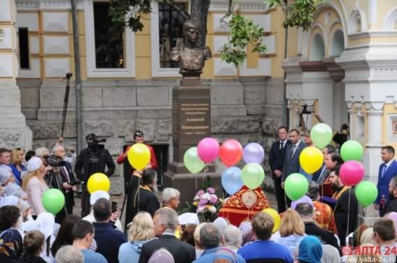 Ялта получила памятник ещё одного выдающегося деятеля… (фото)