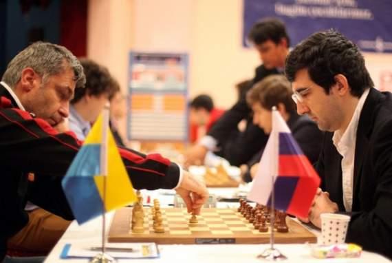 Сборная Украины обыграла Россию на шахматной Олимпиаде