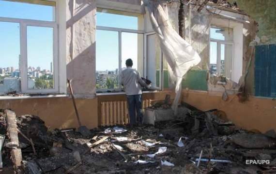 С 1 сентября на Донбассе аннонсировали обстрел школ (ФОТО)