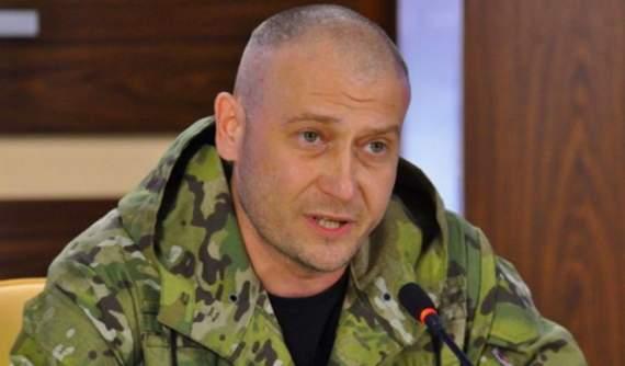 Дмитрий Ярош о формировании УДА и обстановке на фронте.