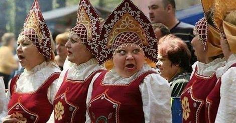 Тётя с России гостила в Украине 3 дня и убежала назад на РФ. Отгадайте, почему?
