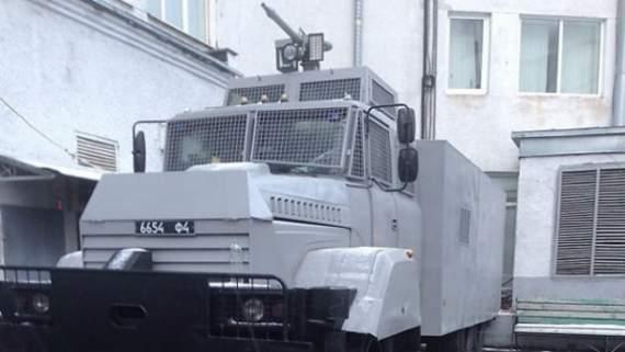 Нацгвардия срочно начала готовиться к разгону массовых акций в Киеве