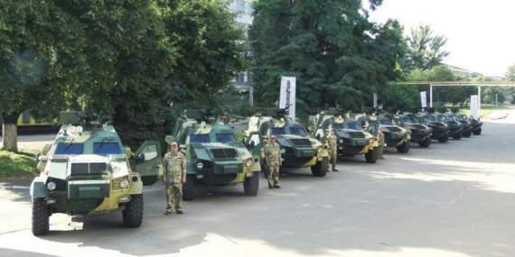 В Киеве представили новую пушку «Вий» для бронемашин ВСУ (ВИДЕО)