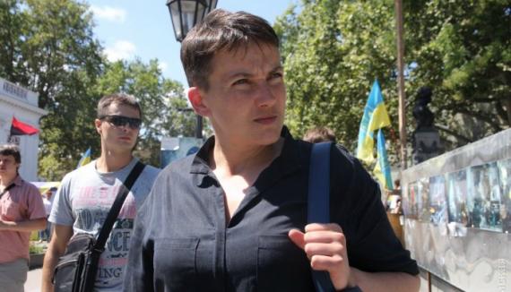 Автомобиль Савченко попал в ДТП (ФОТО) (ВИДЕО)