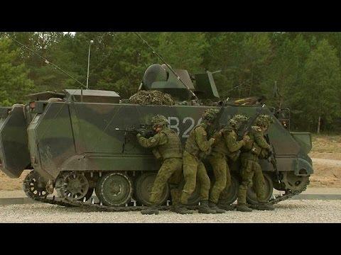 Литва на новой базе тренируется вести уличные бои с Россией /видео/