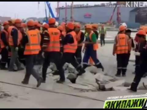 """На заводе """"Звезда"""" северокорейские рабочие побили россиян /видео/"""