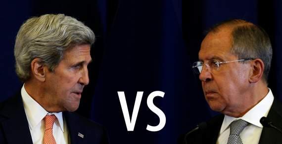 Обмен репликами Керри и Лаврова в ООН в связи с бомбардировкой гумконвоя МККК в Сирии /видео/