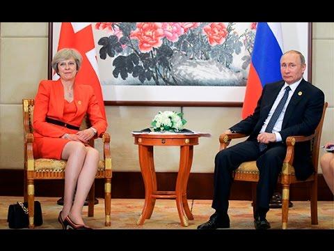 Тереза Мэй не подала руку Путину