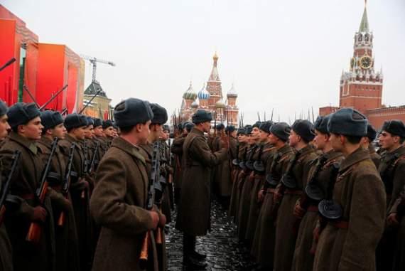 Чекистский Helloween: сети взорвало странное фото с марша в Москве (скриншоты)